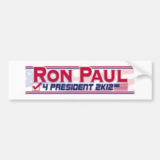 Ron Paul President 2012 Bumper Stickers