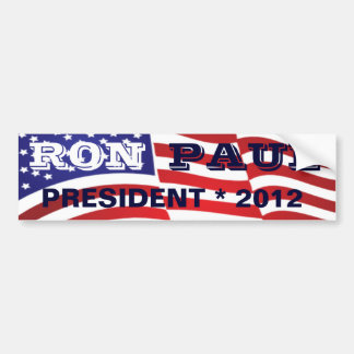 RON PAUL PRESIDENT 2012 BUMPER STICKER