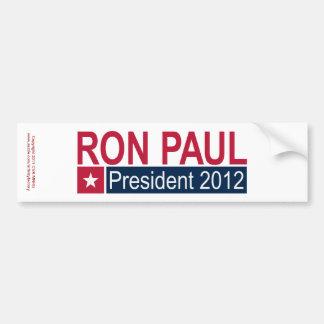Ron Paul President 2012 Car Bumper Sticker