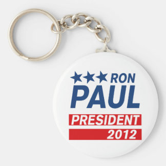 Ron Paul President 2012 Campaign Gear Basic Round Button Key Ring