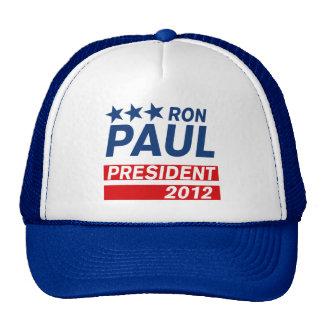 Ron Paul President 2012 Campaign Gear Cap
