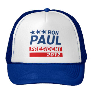 Ron Paul President 2012 Campaign Gear Mesh Hat