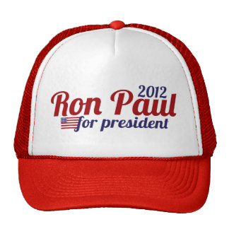 Ron Paul President 2012 Cap