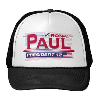 Ron Paul President 2012 Cap