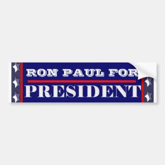 Ron Paul president 2012 CUSTOMIZE Car Bumper Sticker