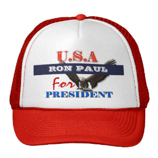 Ron Paul president 2012 CUSTOMIZE Mesh Hats