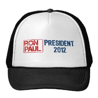Ron Paul president 2012 Mesh Hats