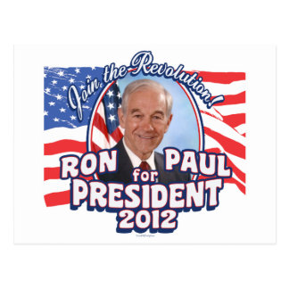 Ron Paul President 2012 Postcard