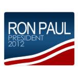 Ron Paul President 2012 Postcard