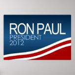 Ron Paul President 2012 Poster