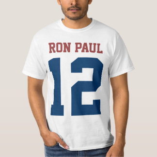 Ron Paul President in 2012 (front and back) T-Shirt