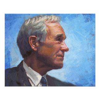 Ron Paul Profile Image 11.5 Cm X 14 Cm Flyer