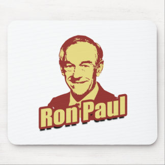 RON PAUL Propaganda Poster Mouse Pad