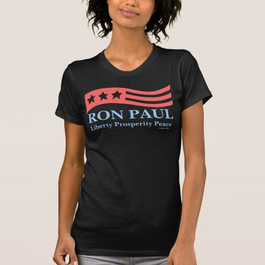 Ron Paul Red White and Blue Americana Shirts