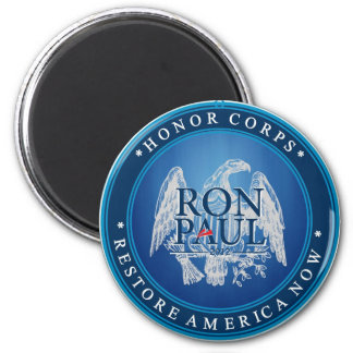 Ron Paul Restore America Now Refrigerator Magnet