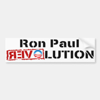 Ron Paul Revolution 2012 - Change Over Bumper Stickers