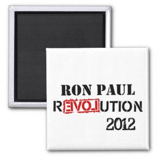Ron Paul Revolution 2012 Refrigerator Magnet