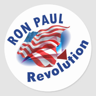 Ron Paul Revolution 2012 Stickers