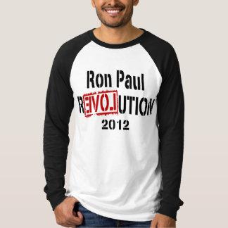 Ron Paul Revolution 2012 T Shirt