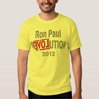Ron Paul Revolution 2012 Tshirts