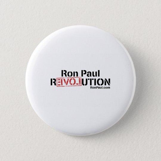 Ron Paul Revolution 6 Cm Round Badge