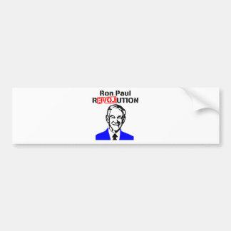 Ron Paul Revolution Blue n Red Bumper Sticker