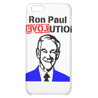 Ron Paul Revolution Blue n Red iPhone 5C Covers