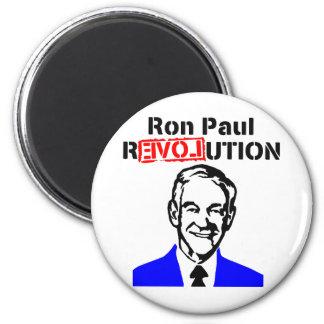 Ron Paul Revolution Blue n Red Refrigerator Magnet
