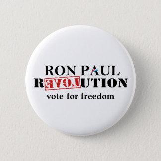Ron Paul Revolution Button - Vote for Freedom.