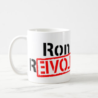 Ron Paul Revolution Continues Classic White Coffee Mug