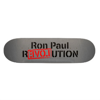 Ron Paul Revolution Continues Skate Boards