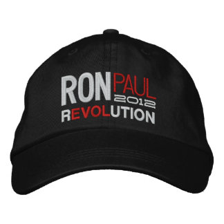 Ron Paul Revolution Embroidered Cap