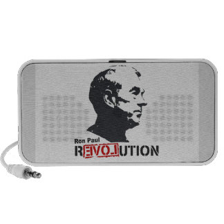 Ron Paul rEVOLution Face Stencil Notebook Speakers