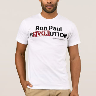 Ron Paul Revolution Fitted T T-Shirt