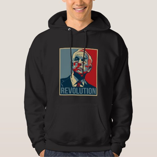Ron Paul Revolution Hooded Sweatshirts