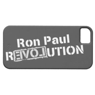 Ron Paul Revolution iPhone5 Cover iPhone 5 Cover