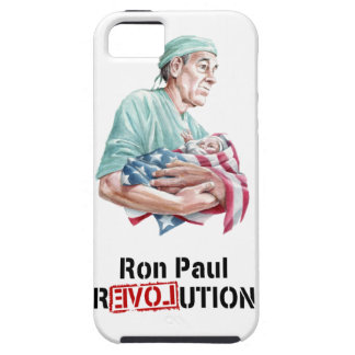 Ron Paul Revolution iPhone Case v1 Tough iPhone 5 Case