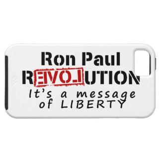 Ron Paul rEVOLution It's a message of Liberty Tough iPhone 5 Case