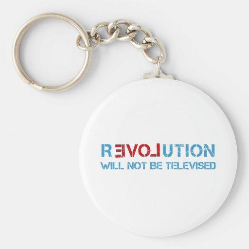 Ron Paul revolution Keychains
