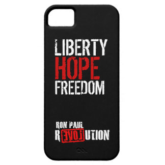 Ron Paul Revolution - Liberty, Hope, Freedom iPhone 5 Cases
