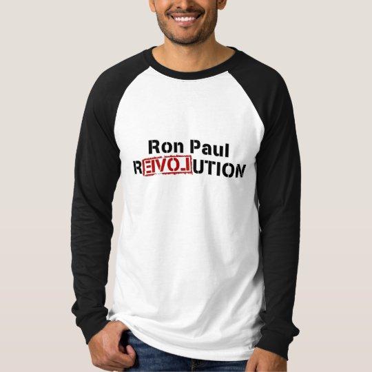 Ron Paul Revolution Long Sleeve T-Shirt