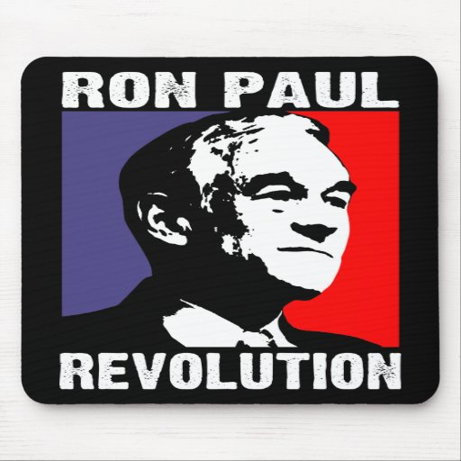 Ron Paul Revolution Mouse Pad