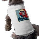 Ron Paul Revolution Pet T-shirt
