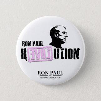 Ron Paul Revolution - Pink 6 Cm Round Badge