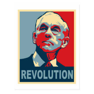 Ron Paul Revolution Postcard