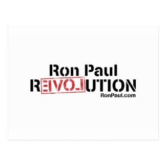 Ron Paul Revolution Post Cards