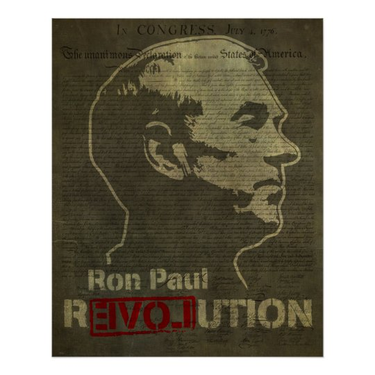 Ron Paul Revolution Print