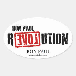 Ron Paul Revolution - Restore America Now Sticker