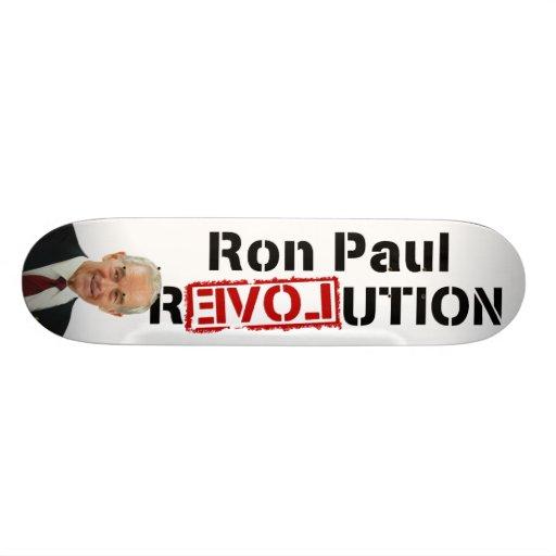 Ron Paul Revolution Skate Board