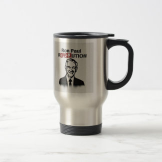 Ron Paul rEVOLution Stainless Steel Travel Mug